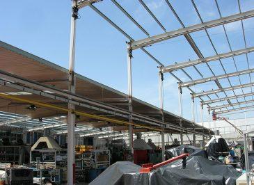 Ampliación altura nave industrial