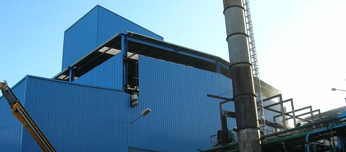 Rehabilitación industrial elevación